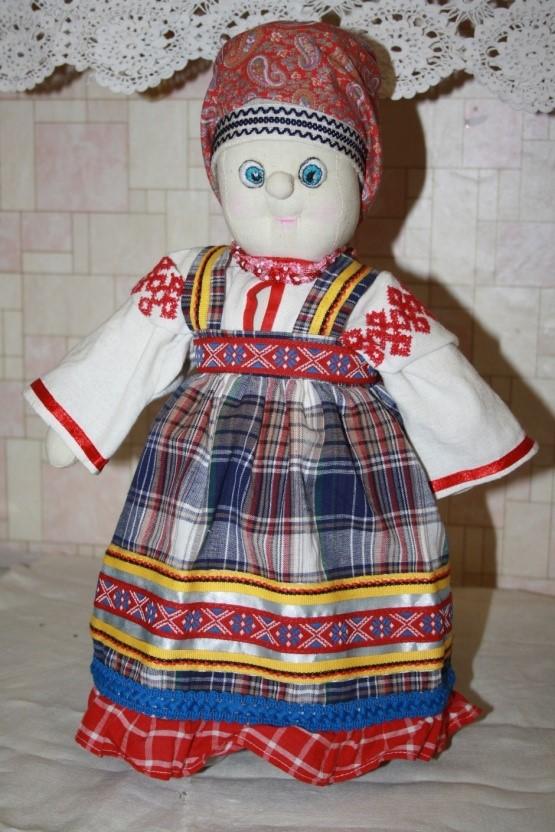 Максимова Анастасия, 12 лет – Русский народный костюм 18-19 в.в. женщины крестьянки