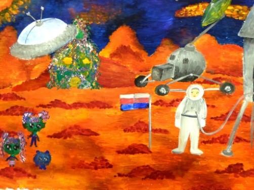 Чугайновна Софья, 13 лет – Космические приключения. Березники